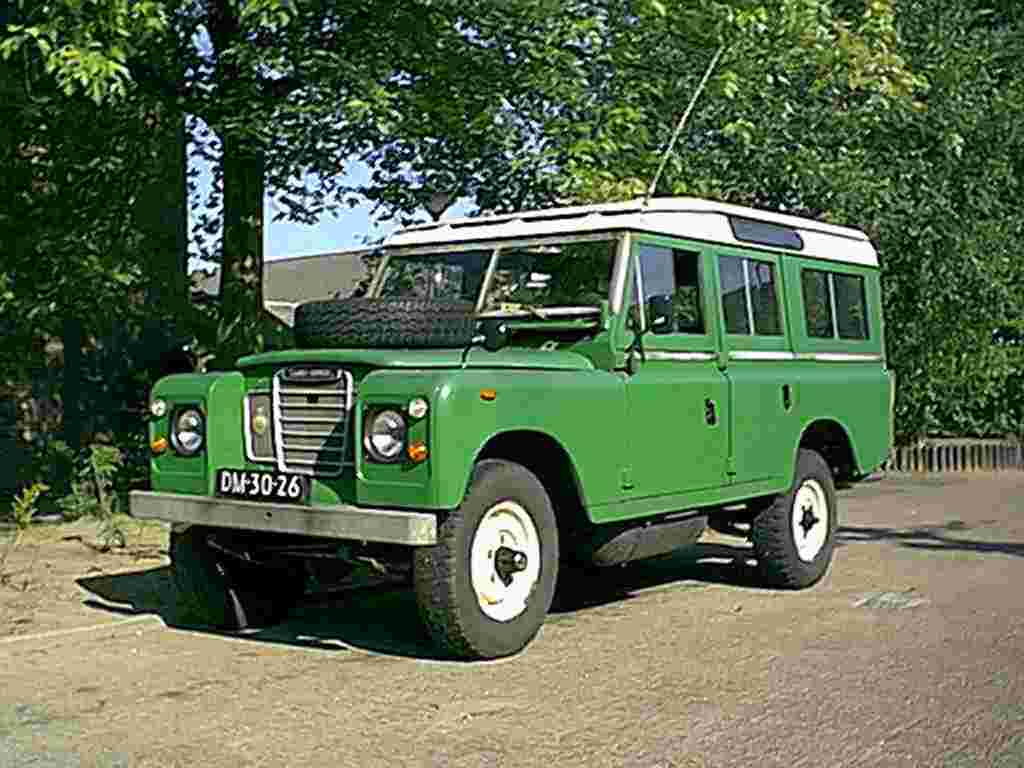 Enterprise Cars For Sale >> IWEMA enterprise, Land Rover 109 SIII on LPG