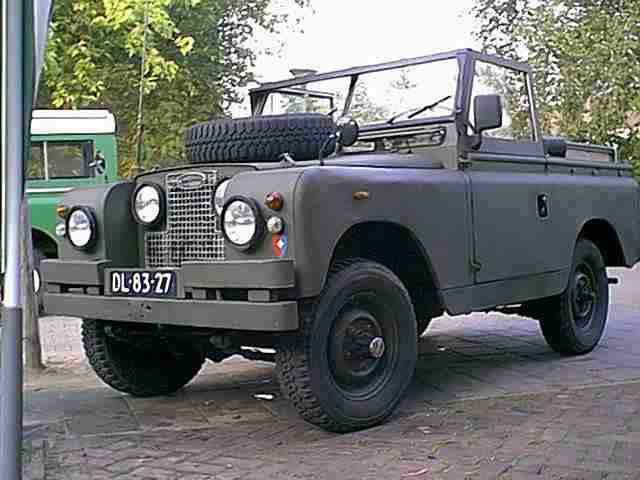 Iwema Enterprise Land Rover 88 Sii A On Lpg