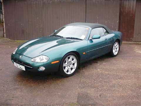 Jaguar Car Images. This Jaguar XK 4.0 V8 is a